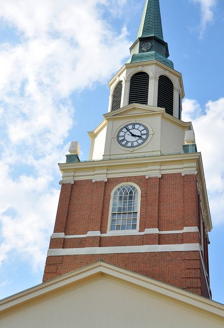 The Wait Chapel Tower ~ Wake Forest University