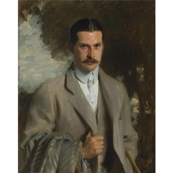 John Singer Sargent - Portrait of John Ridgeley Carter