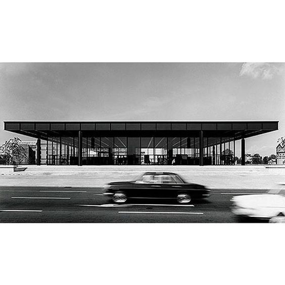 Neue Nationalgalerie #mies #berlin #architectureandmorality by mijangos