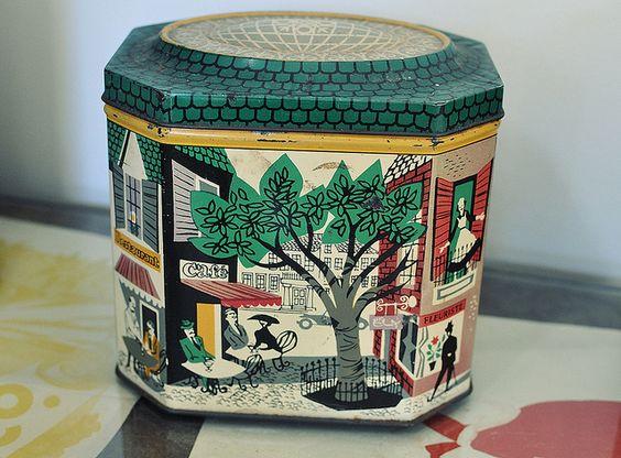 Mid century tin by Crafty Dogma, via Flickr