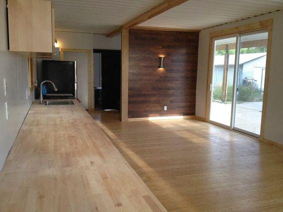 acabamento interno da casa container é similar a de uma casa convencional: