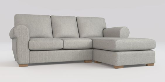 Marseille Corner Chaise - Right Hand (4 seats) PRODUCT INFORMATION StyleMarseille SizeCorner Chaise - Right Hand (4 seats) FabricCosy Twill Light Grey FeetSmall Slim Block - Light DimensionsW203 x H84 x D153cm