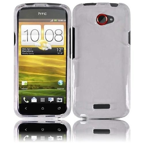 #INSTEN For HTC One S Transparent Phone Hard Case Clear $7.99