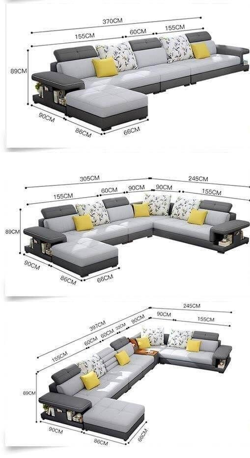 Useful Standard Dimensions For Home Furniture Engineering