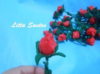 Mini Rosas - Encomenda do Edu
