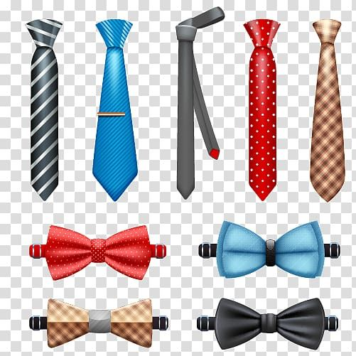 Assorted Neckties And Ribbons Necktie Bow Tie Necktie And Bow Tie Transparent Background Png Clipart Transparent Background Clip Art Ribbon Png