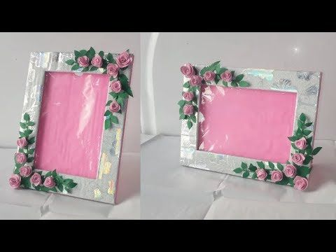 Photo Frame Diy Ideas How To Make Easy Photo Frame At Home Easy