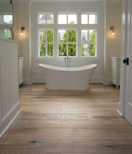 Master Bathroom Makeover There Is Nuthin Master About This Bath Vinyl Wood Planks Wood Vinyl Home Remodeling