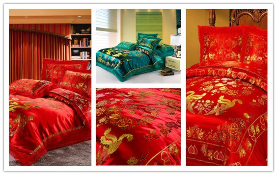 Asian Style Comforter Set Collage Porn Video