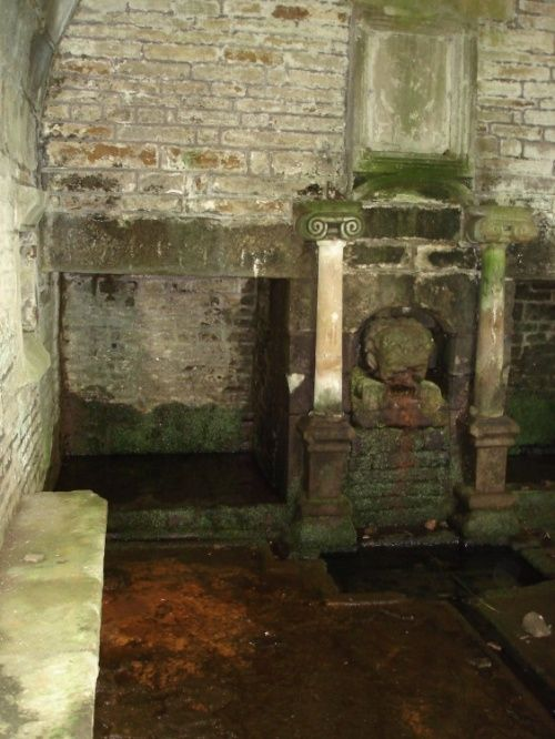 Inside the Well House, Tockholes, Lancashire. A rather eerie tourist attraction.