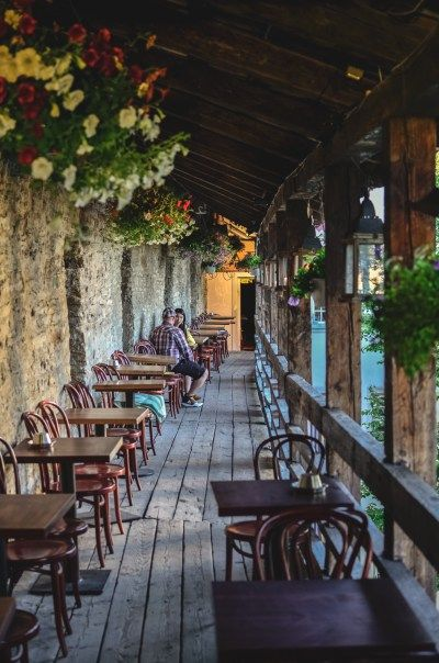 Estonia: Tallinn Old Town, Café: