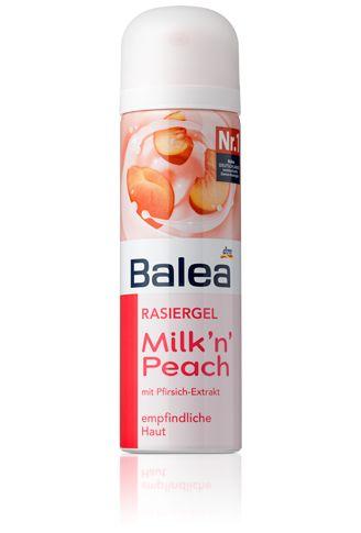 balea rasiergel milk n peach dm favorites pinterest home milk and peaches. Black Bedroom Furniture Sets. Home Design Ideas