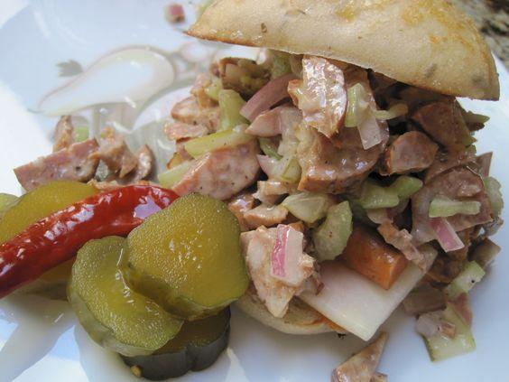 Meat Slaw sandwich.