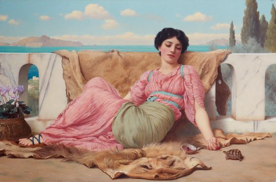 John William Godward... | Kai Fine Art
