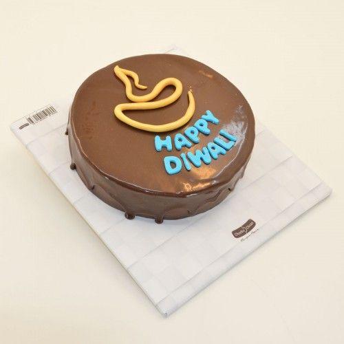 #DiwaliChocolateCake