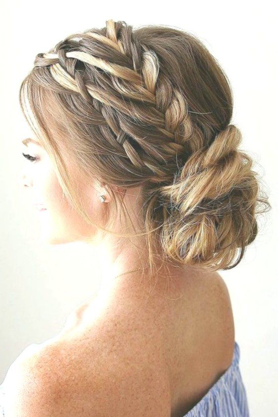 Wedding Prom Hair Updos Long Hairstyles For Wedding Weddings Hairstyles Pro Hair Hairst Hair Styles Bridesmaid Hair Braided Hairstyles For Wedding