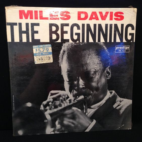 MILES DAVIS The Beginning SEALED Original LP Vinyl Record Prestige PR 7221