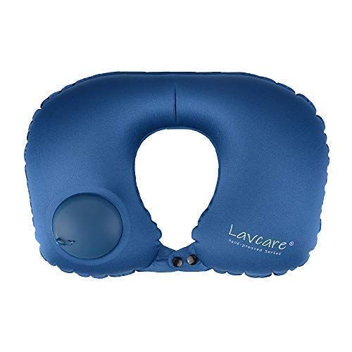 Lavcare Hand Press Sleeping Pillow Air Pillow Inflatable Pillow