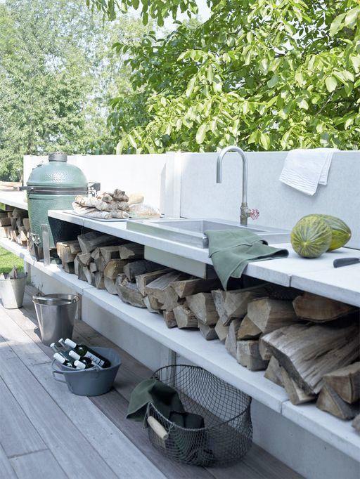 bygga utekök med grill