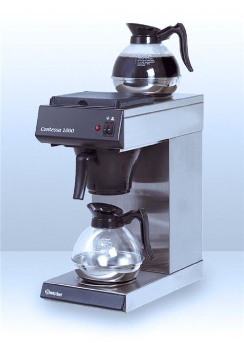 Karner & Dechow Industrie Auktionen - 1 Stk. Bartscher Filterkaffeemaschine Contessa 1000 incl. 1 Kanne und 2 Wärmeplatten Anschluß 2 KW 230V Aufbrühzeit: ca - Postendetails