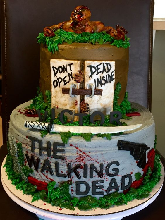 Walking Dead Cake by Stacy Cole Gregory
