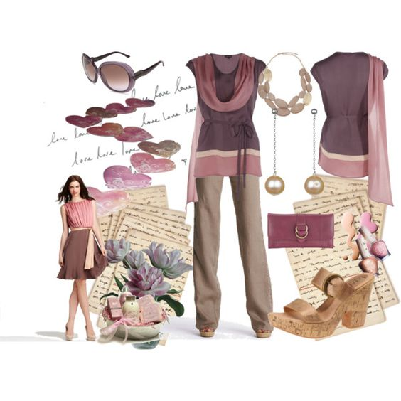 love letters, created by kathyborie7 on Polyvore