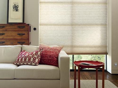 Cellular Shades Honeycomb Shades Colourful Living Room