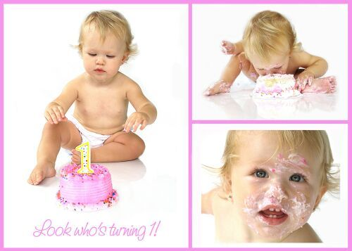 Super cute Cake Smash photoshoot for 1st birthday