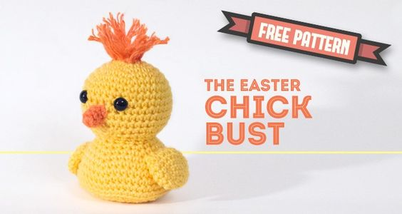 Free Crochet Pattern Easter Chick : Amigurumi Chick - FREE Crochet Pattern / Tutorial A ...