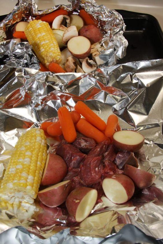 Pot Roast Foil Packs #CookoutWeek
