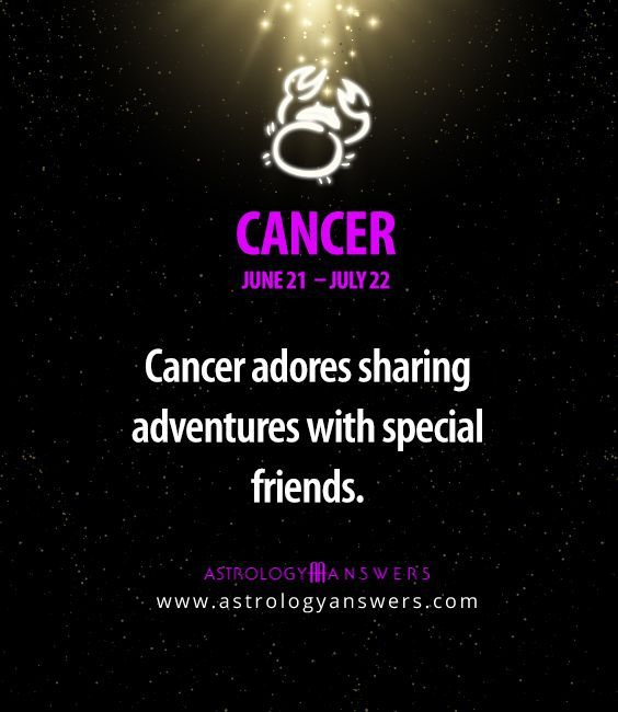 #Cancer just click on the picture to read even more about you!
