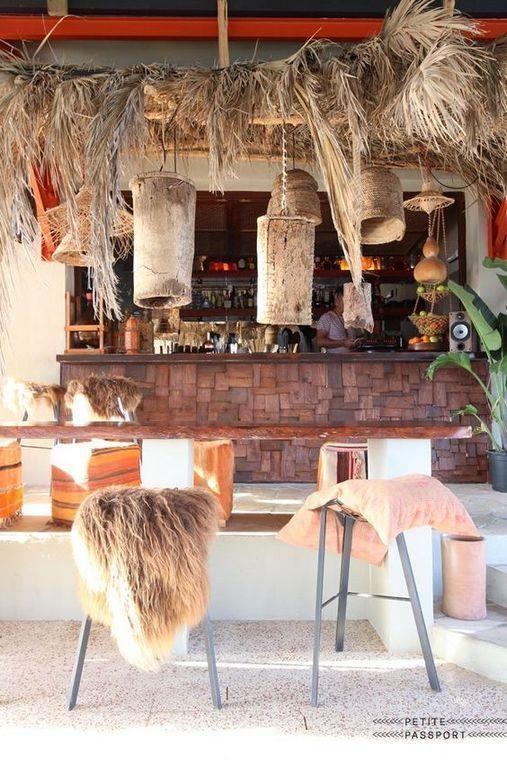 Spectacular Beach Restaurant Interior Exterior Design Ideas 27 In