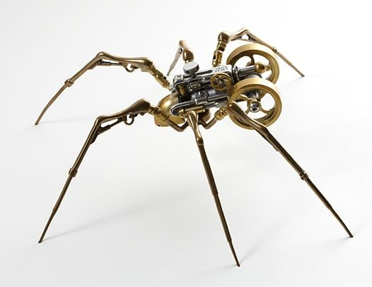 I found this on: http://www.robotvsbadger.com/images/steampunked-animals/ I've become a fan of steampunk recently....now that I actually know what it is :)