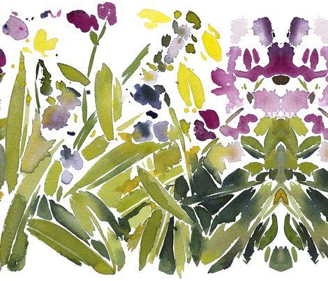 C'EST LA VIV™ Garden Lark Collection_WILDFLOWERS  fabric by c'est_la_viv on Spoonflower - custom fabric: Watercolor Art, Art Watercolors, Spoonflower Fabrics, Wildflowers Fabric, Explosive Wildflower, Collection Wildflowers, Art Inspirations