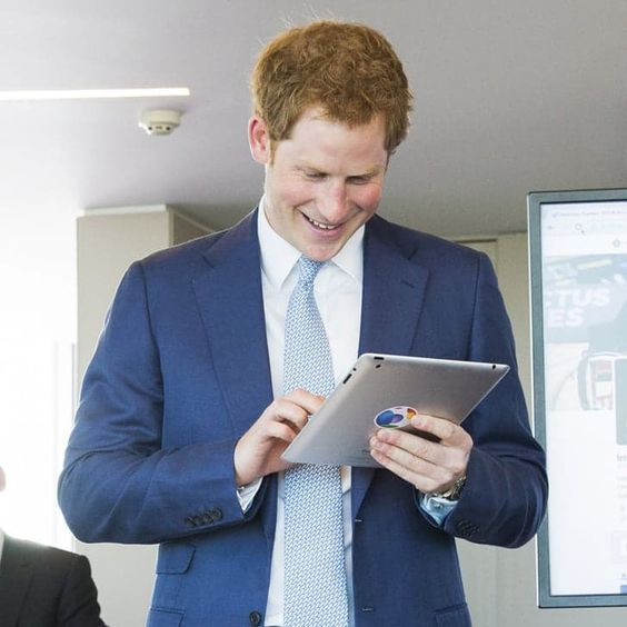 Pin for Later: Prince Harry Just Sent Out His First Tweet, and It Was Adorable