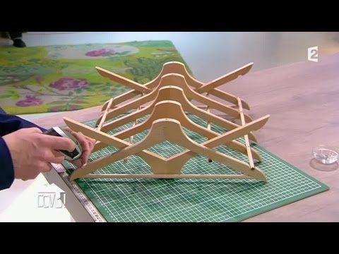 id e de d tournement d 39 objet transformer des cintres en bois en gouttoir vaisselle diy. Black Bedroom Furniture Sets. Home Design Ideas