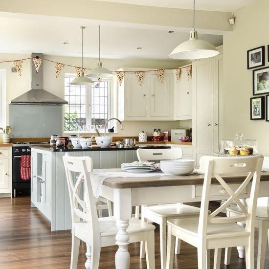 Classic family kitchen-diner | Family kitchen design ideas | housetohome.co.uk