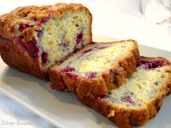 Raspberry Lemon Loaf | Weight Watchers Recipes