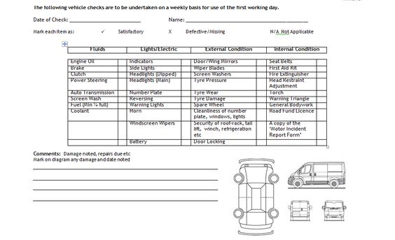 Vehicle Log Book Format Excel And Word http\/\/exceltmp\/vehicle - 360 degree feedback form