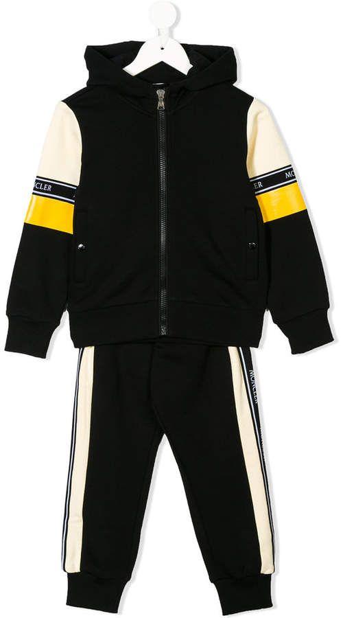 NWT Puma Infant Boys Black /& Blue 2 Piece Baby Jogging Track Sweat Suit
