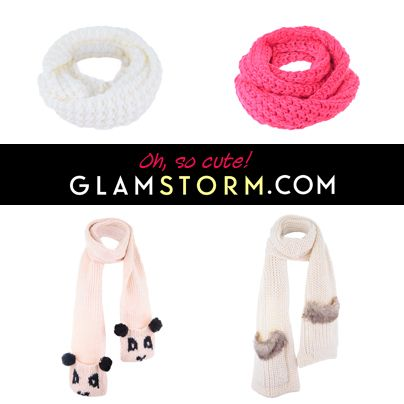 Kolejne urocze, zimowe i cieplutkie ubrania! / Another set of cute, warm, winter ctlothes and accessories!    http://glamstorm.com/pl/przymierzalnia/ubrania/c/szaliki#