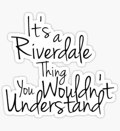 Riverdale Stickers In 2020 Riverdale Wallpaper Iphone Riverdale Red Bubble Stickers