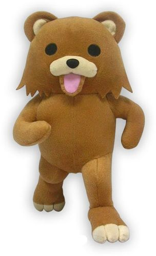 Look at this cute stuffed cuddly bear...wait isn't that?!?!