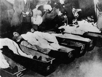 Triangle Shirtwaist Fire The Triangle Shirtwaist Factory fire in New York City on March 25,