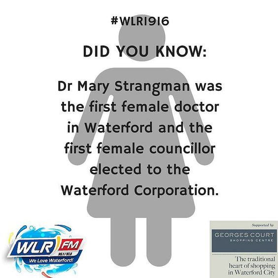 A number of Waterford women were determined to make their mark on how things were run in the city and county 100 years ago. Listen in today to learn more! #WLR1916 #Waterford #1916Centenary #Ireland1916