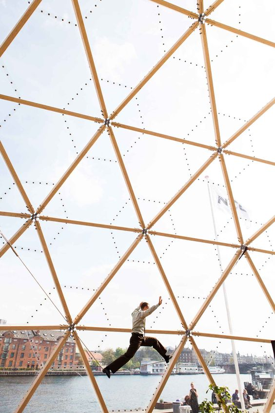 Dome of Visions by Kristoffer Tejlgaard & Benny Jepsen // Copenhagen, Denmark | http://www.yellowtrace.com.au/dome-of-visions-copenhagen-denmark/: