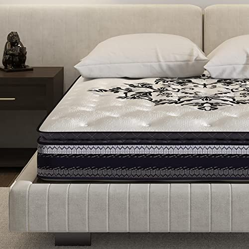 New Signature Sleep Mattress Full Size Mattress Inspiration 10 Inch Hybrid Coil Mattress Full Online Prettytoppro In 2020 Sleep Inspiration Mattress Sleep Mattress
