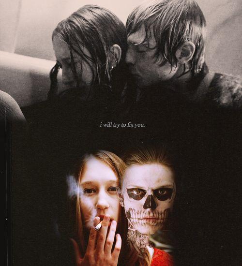 Tate (Evan Peters) and Violet (Taissa Farmiga) (American Horror Story: Murder House)