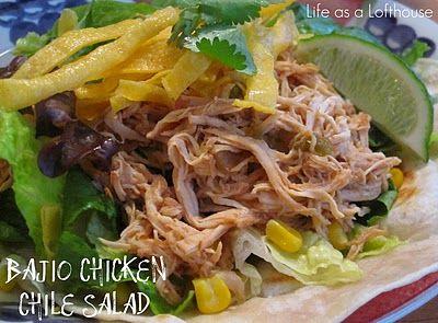 Bajio Chicken Chile Salad