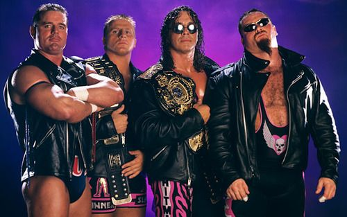 The New Hart Foundation, The British Bulldog (deceased), Owen Hart (deceased), Bret Hart and Anvil Jim Neidhart